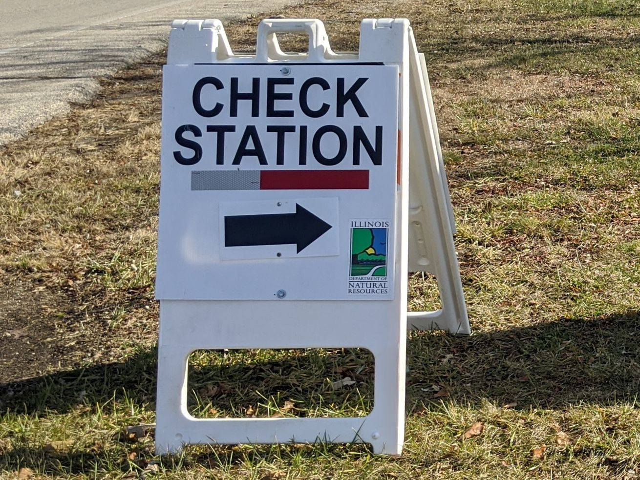 File photo of a deer check station sign. Credit: Dale Bowman