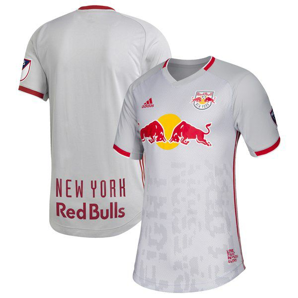 """New York Red Bulls 2019 Primary """"Glitch Kit"""" Authentic Jersey for  119.99  Fanatics 6e3d59634"""
