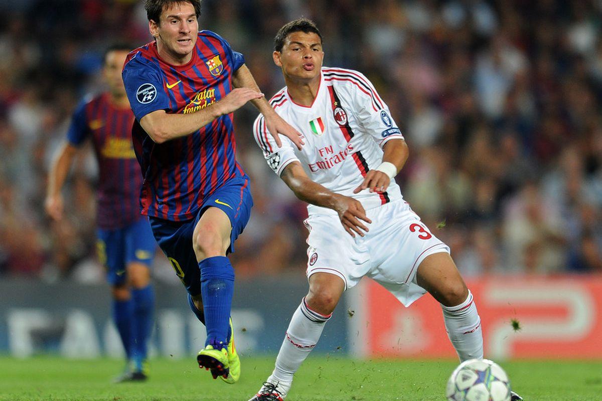 Imagine Thiago Silva in a Barca shirt...