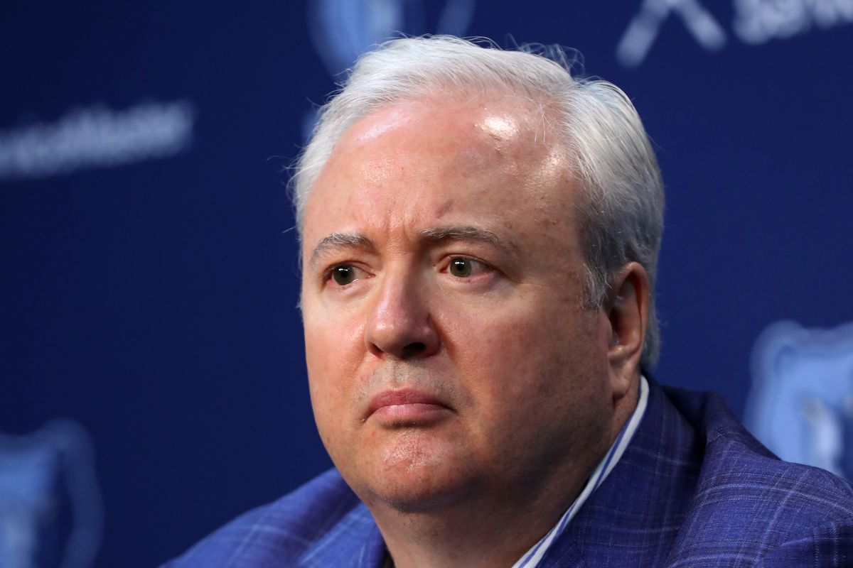 Photo by Joe Murphy/NBAE via Getty Images. Grizzlies General Manager Chris  Wallace ...