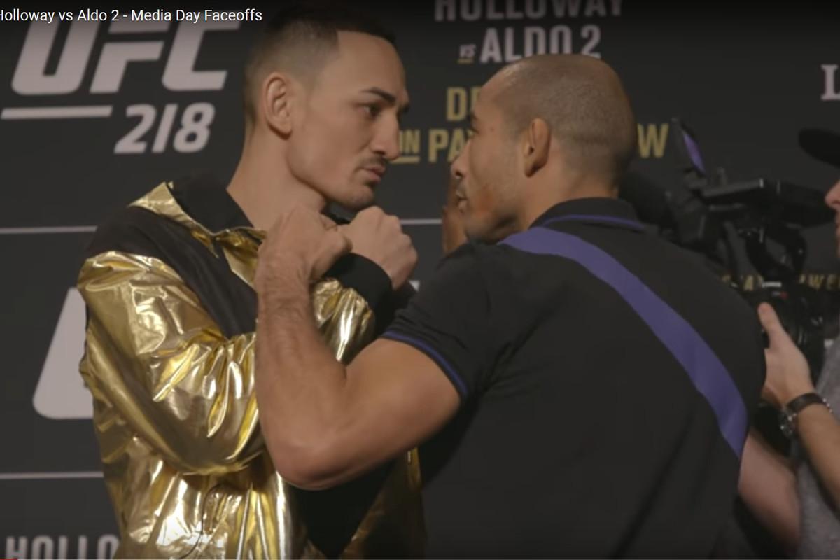 Ufc 218 Fight Card Primer And Preview Max Holloway Vs Jose Aldo 2