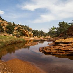 Mule Canyon, which is filled with archaeological sites and ruins, is pictured near Blanding on Thursday, Aug. 20, 2015. The Bears Ears area is the center of a proposed 1.9 million acre region to be conserved and possible site of a national monument.