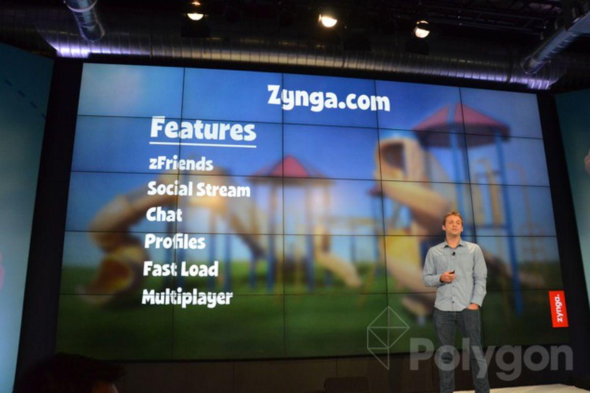 zynga.com new features
