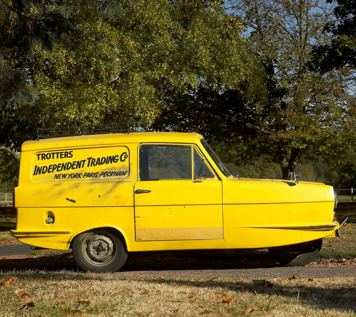 Trotter's Reliant Van from 'Only Fools and Horses' tv programme