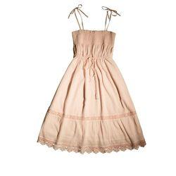"""<a href'=""""http://www.hm.com/us/product/98797?article=98797-A#&campaignType=K&shopOrigin=QL"""">Cotton sundress</a>, $39.95"""