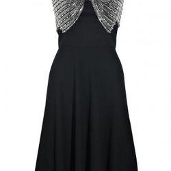 Azzaro bow-embellished wool-crepe dress, $1,457.25 (orig. $9,715)