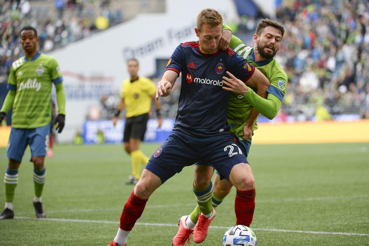 SOCCER: MAR 01 MLS - Seattle Sounders FC v Chicago Fire