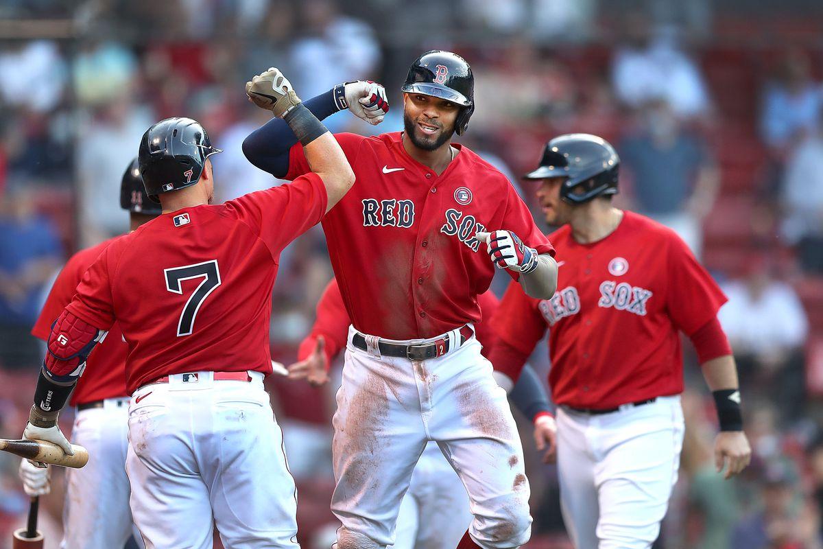 Los Angeles Angels Vs. Boston Red Sox at Fenway Park