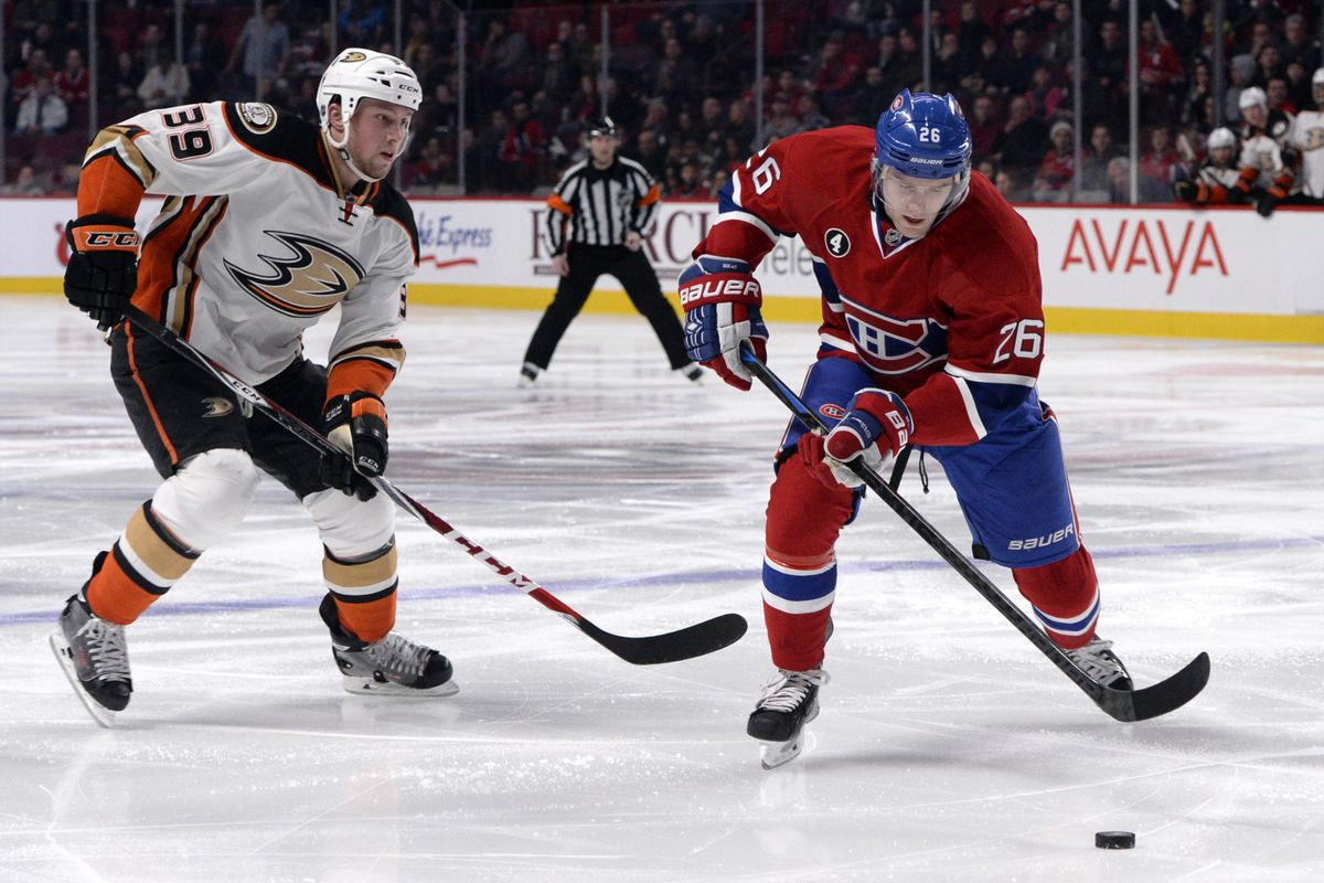 After opposing Anaheim on December 18, Jiri Sekac will now don the Ducks colors.