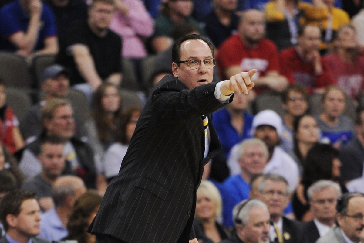 Wichita State Shocker head coach Gregg Marshall