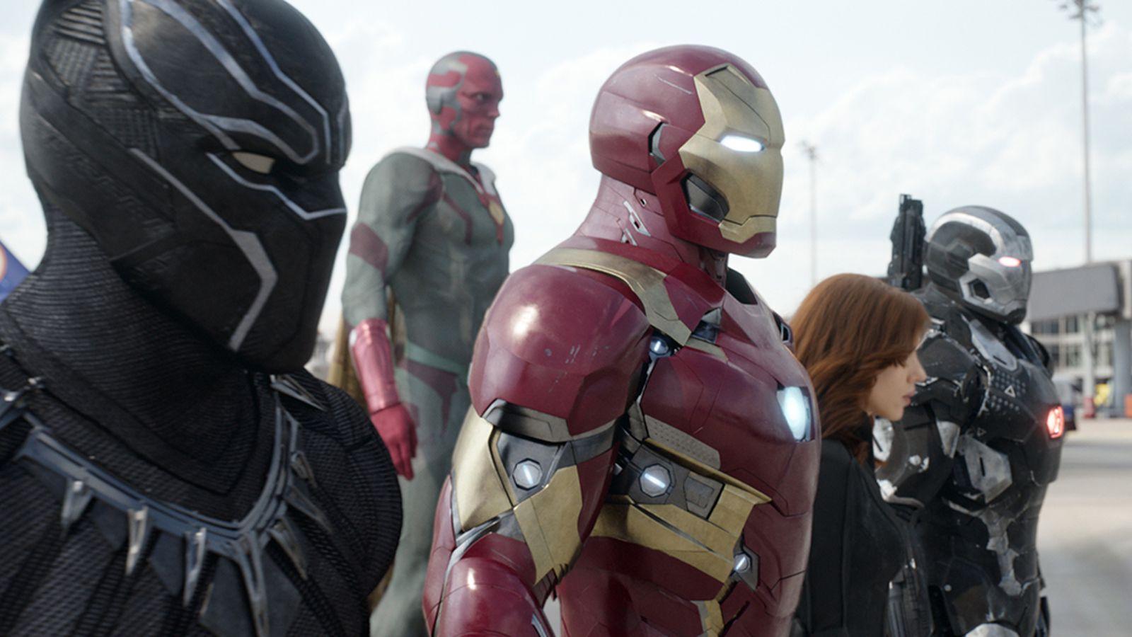 That massive airport fight in Captain America: Civil War was almost