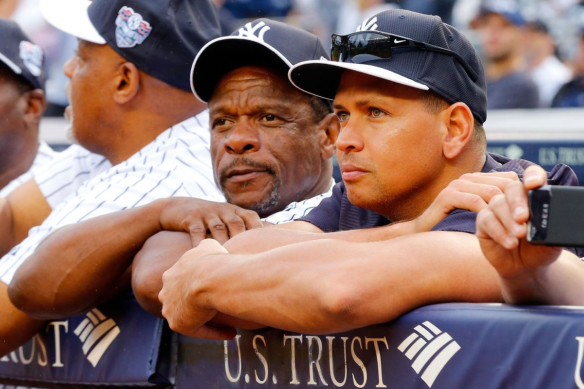 Rickey & A-Rod have that inner circle Hall of Fame pass to the pie room!