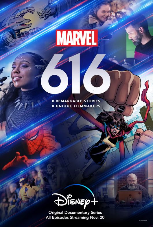 """The official poster for """"Marvel's 616."""""""