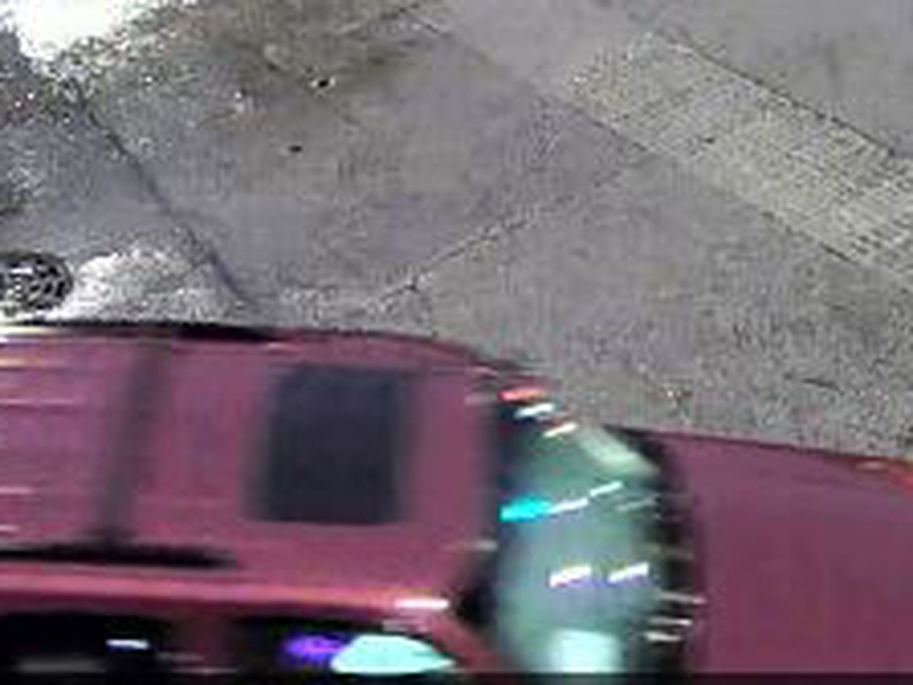 Police are looking for an SUV in connection to a hit-and-run July 15, 2020, in Rogers Park.