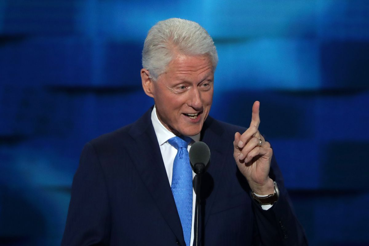 Bill Clinton spoke to a Democratic Party that has ...