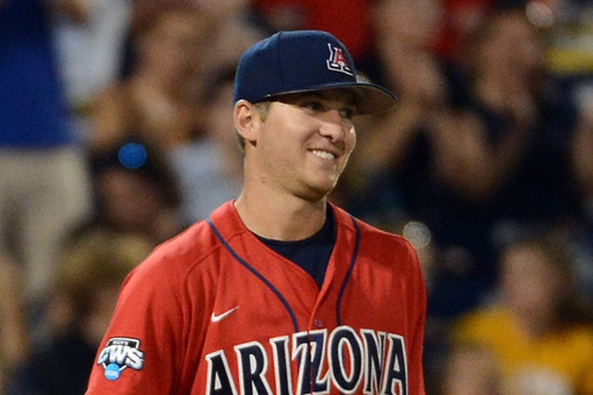 Konner Wade threw his first complete game of 2013 as the Arizona Wildcats beat the Alabama State Hornets 8-2 on Friday