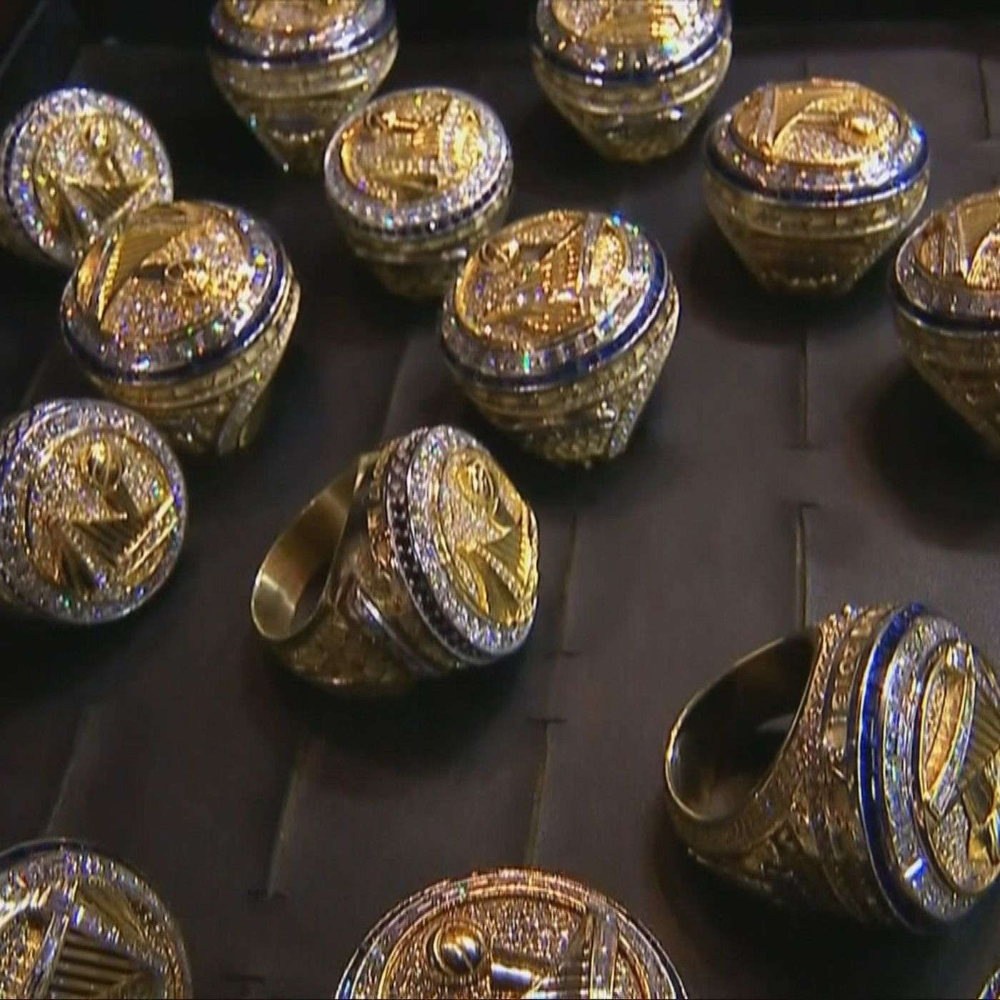 The Warriors New Championship Rings Are Pretty As Hell Sbnationcom