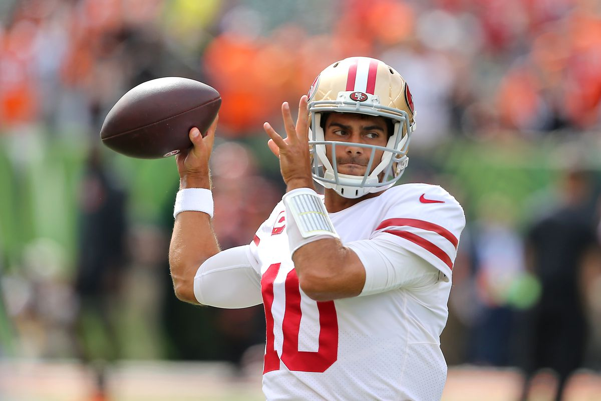 Image result for jimmy garoppolo