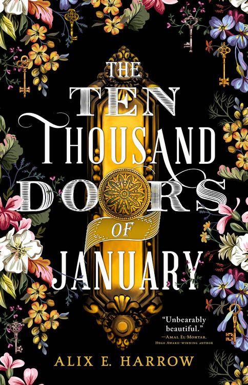 "Cover of ""The Ten Thousand Doors of January"" by Alix E. Harrow"