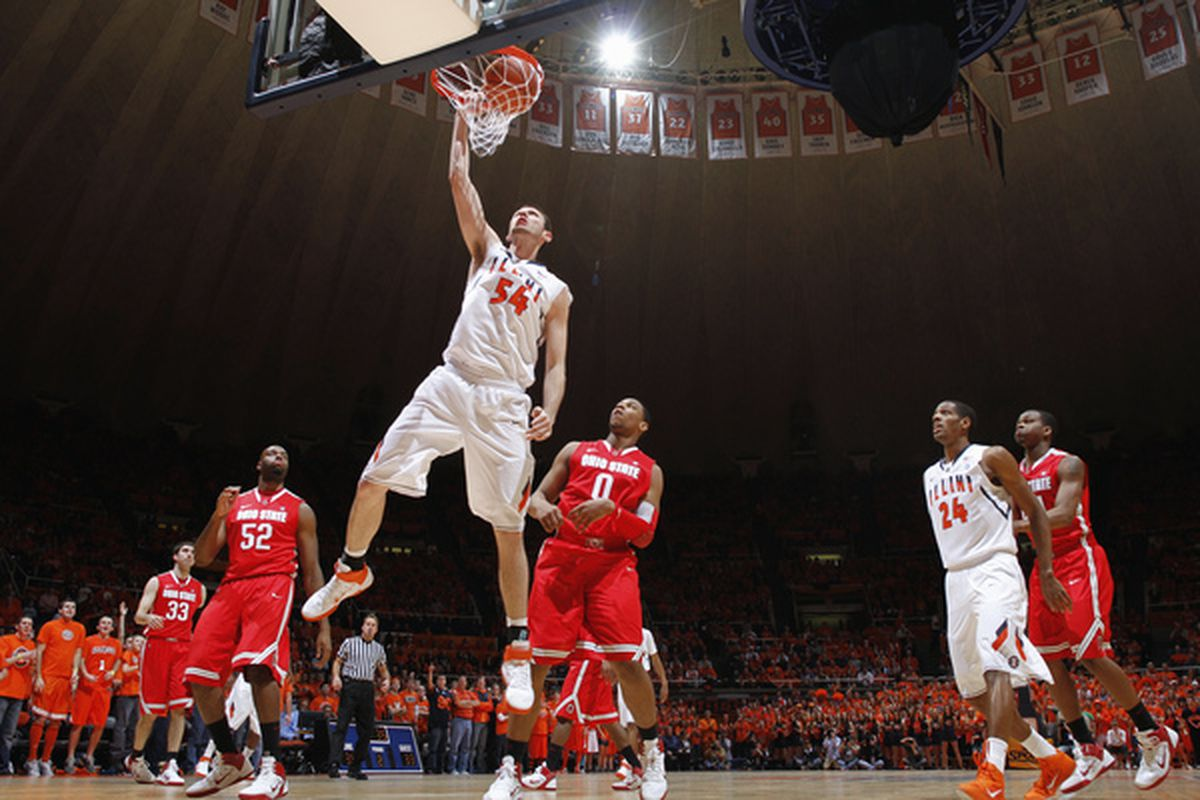 This was about as good as it got for Illinois in the first game against Ohio State. Can they pull off an upset of the Buckeyes in Columbus?