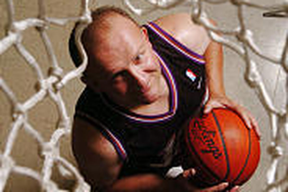 Charlie Newsome is a Special Olympics Hall of Fame athlete who counts Karl Malone as a friend and supporter.