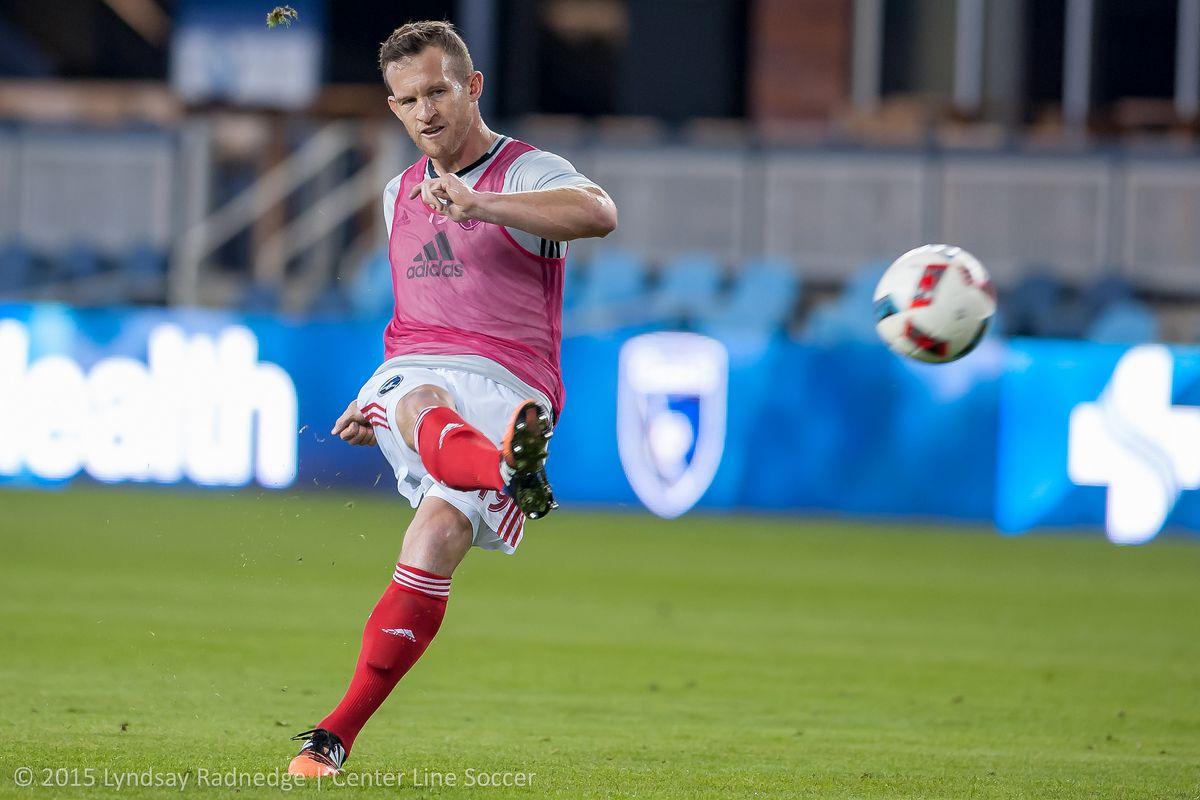 Chad Barrett joins his sixth MLS club in 12 seasons
