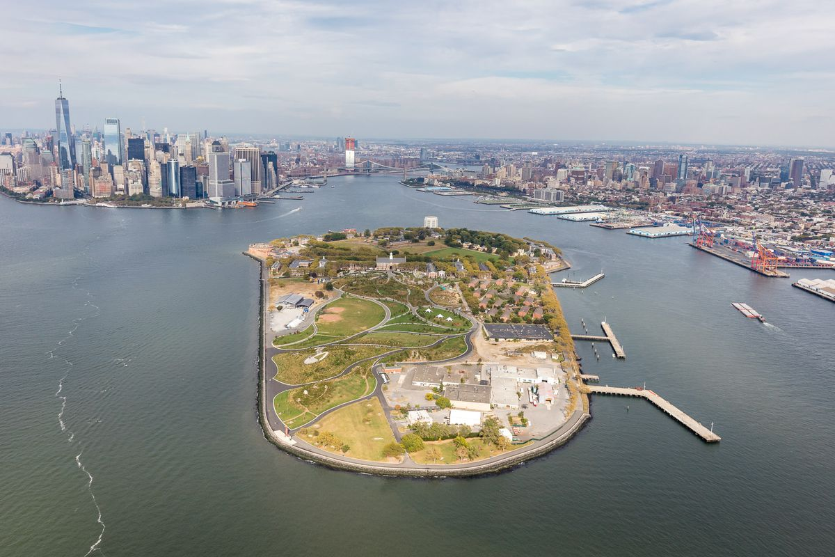 governors island rezoning process is now underway curbed ny