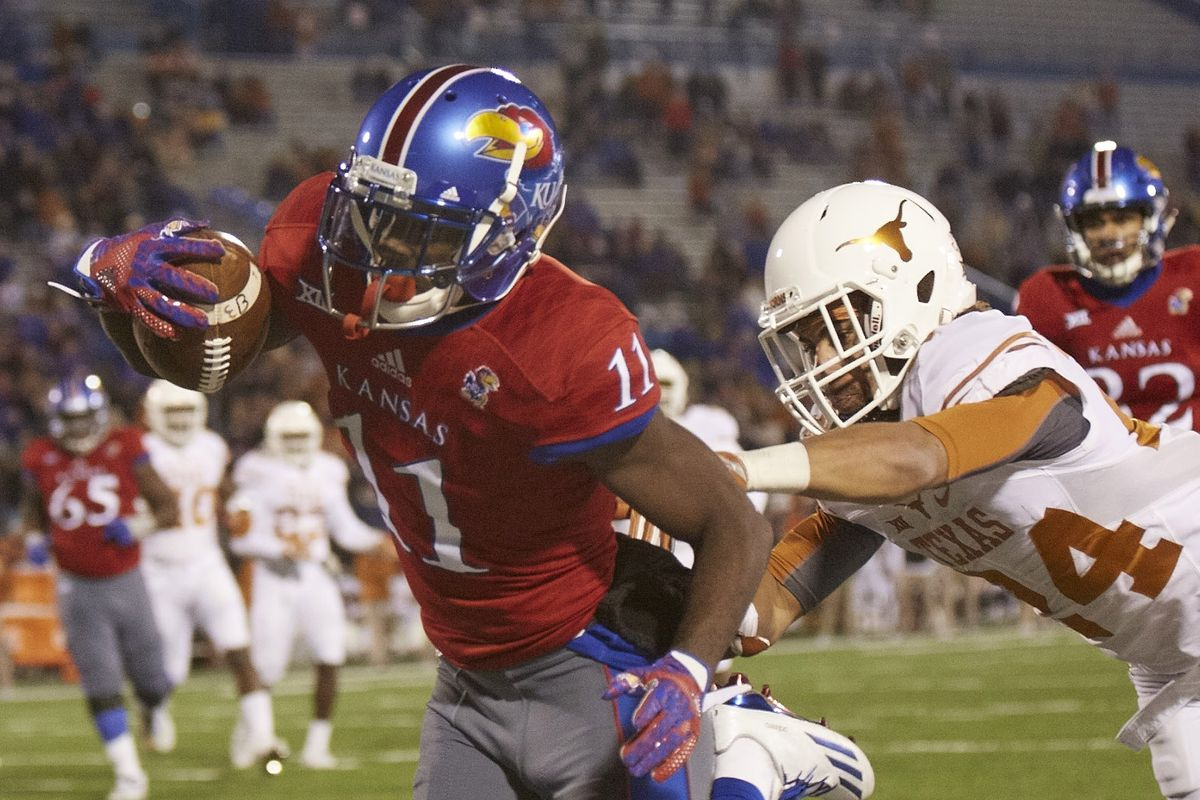 Big 12 Kansas Jayhawks college football team has a chance to be not terrible in 2017 ...