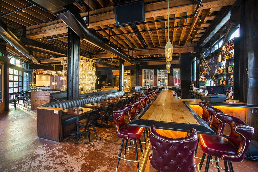 Seattle S Swankiest New Steakhouse Opens Its Bar Tonight