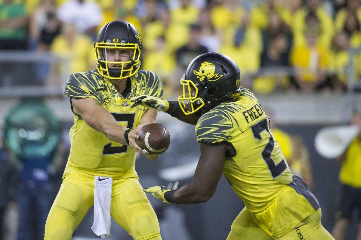 NCAA Football: Virginia at Oregon