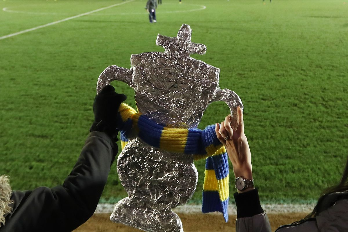 AFC Wimbledon v Sutton United - The Emirates FA Cup Third Round Replay