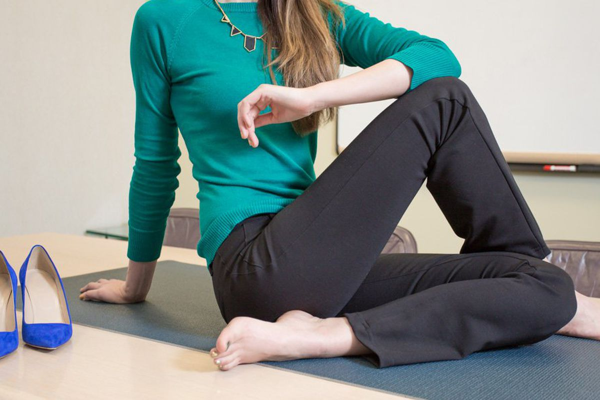 30e5fed8a976 Dressy Yoga Pants Prove to Be Betabrand s Big Win - Racked