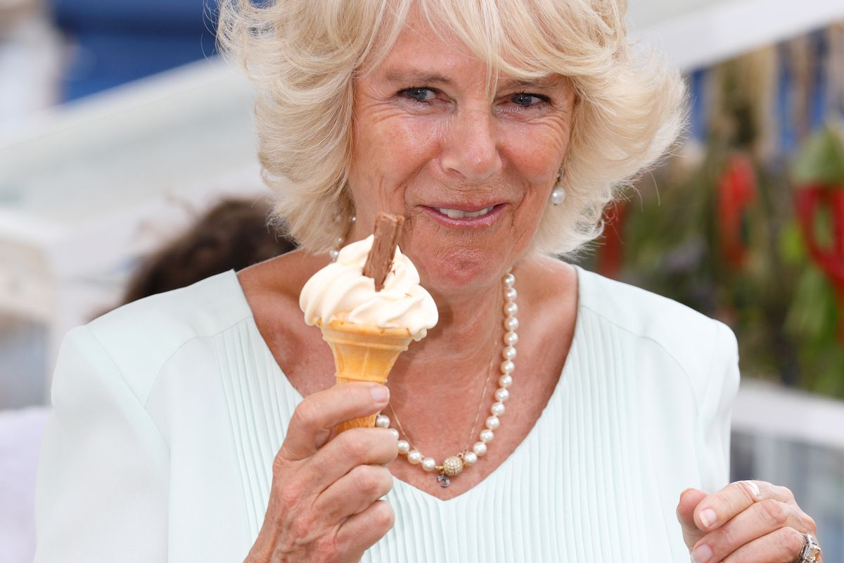 The Duchess Of Cornwall Visits The Hampton Court Flower Show