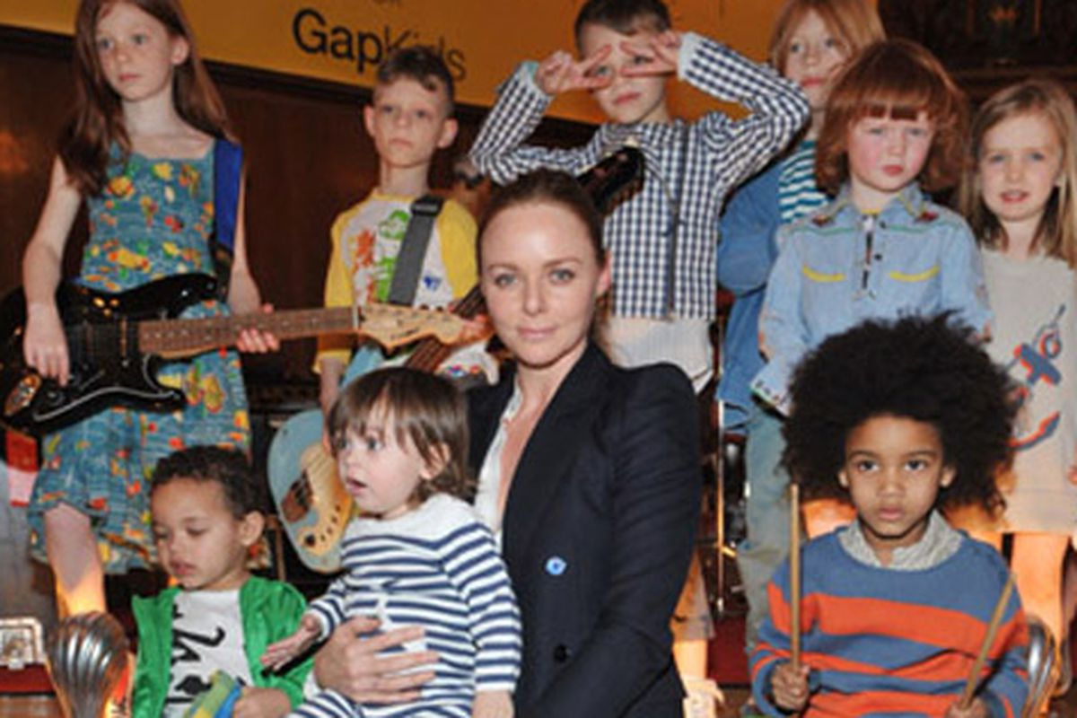 """Stella McCartney and the hipsters of the future. Image via <a href=""""http://www.nitrolicious.com/blog/2010/03/18/stella-mccartney-for-gapkids-spring-2010-first-look/"""">Nitrolicious</a>"""