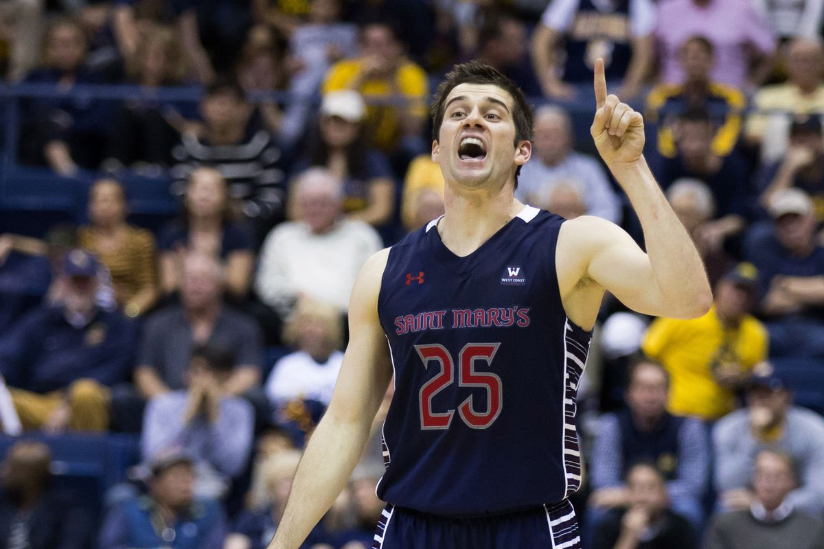 Saint Mary's and point guard Joe Rahon are in first place in the WCC.