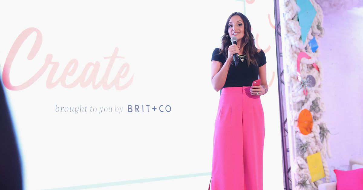 Digital media lifestyle brand Brit + Co is in financial trouble