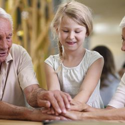 A study says some kids living with grandparents don't get vital supports that help the entire family.