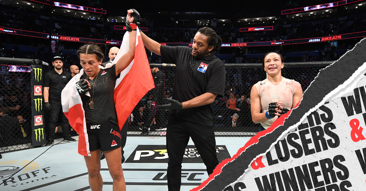UFC Tampa: Joanna vs. Waterson - Winners and Losers