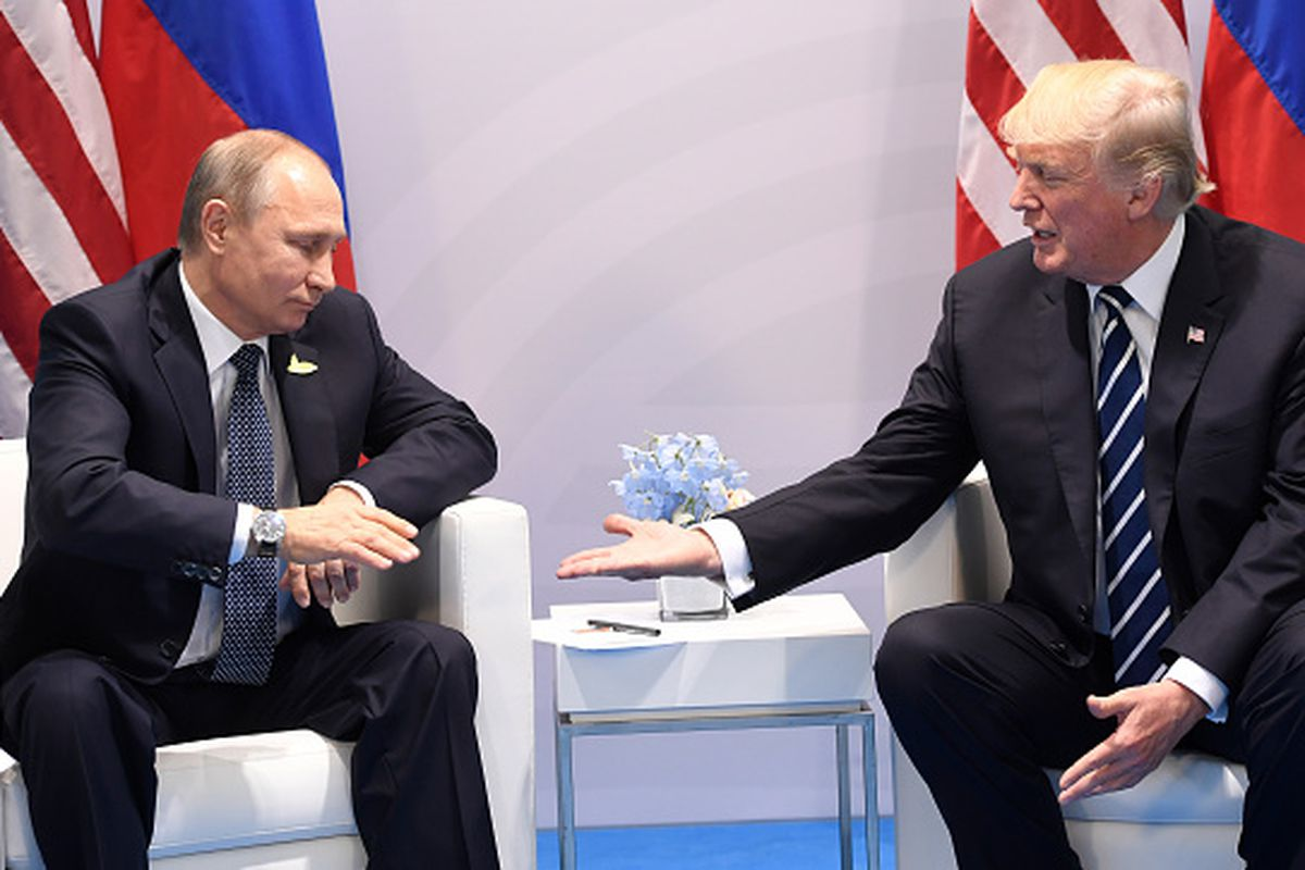 Trump had undisclosed meet with Putin at G20