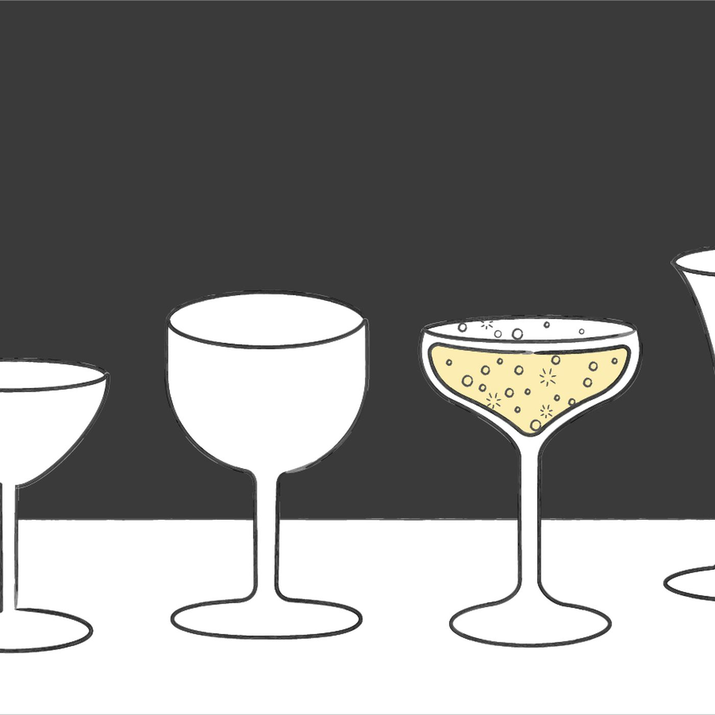 Myth Busts The Enduring Legacy Of Breast Shaped Glassware Eater