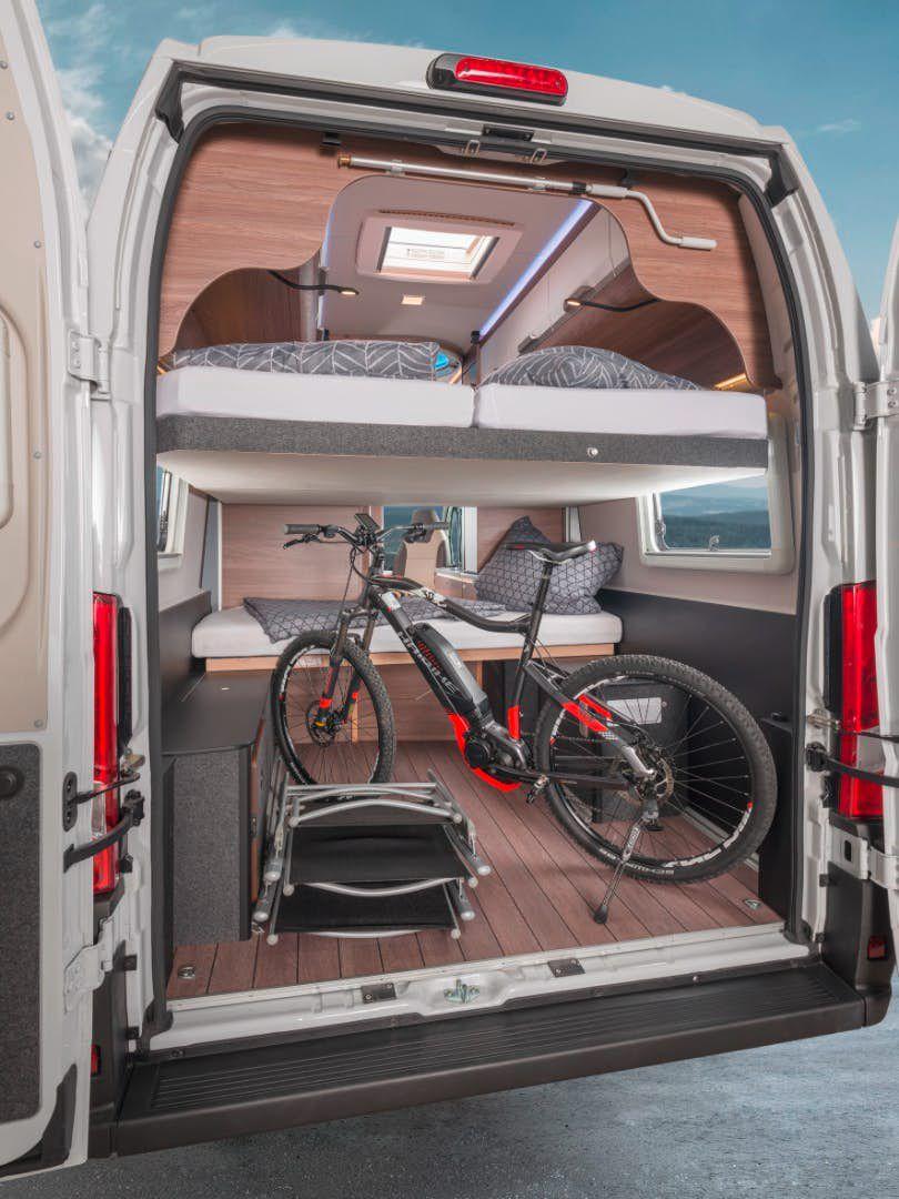 Best Family Camper - bike storage in the back