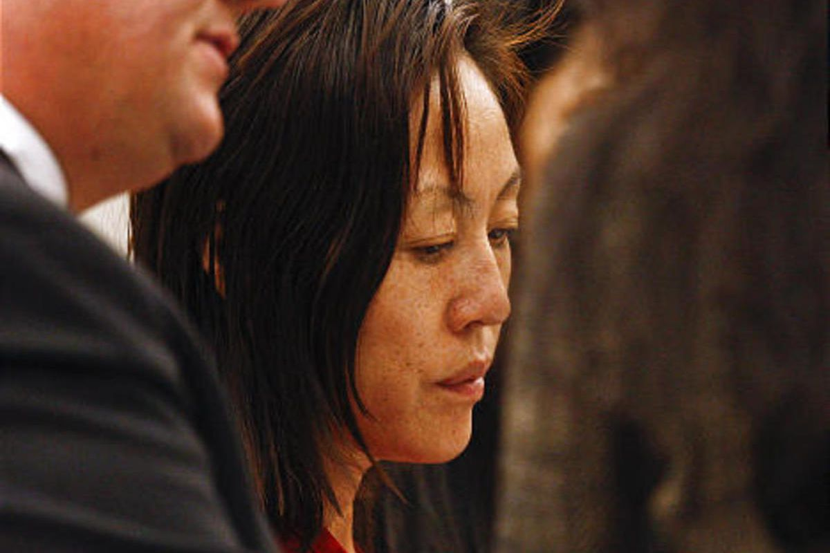 Sun Cha Warhola appears in the Davis County Court on Friday, Sept. 10, 2010.