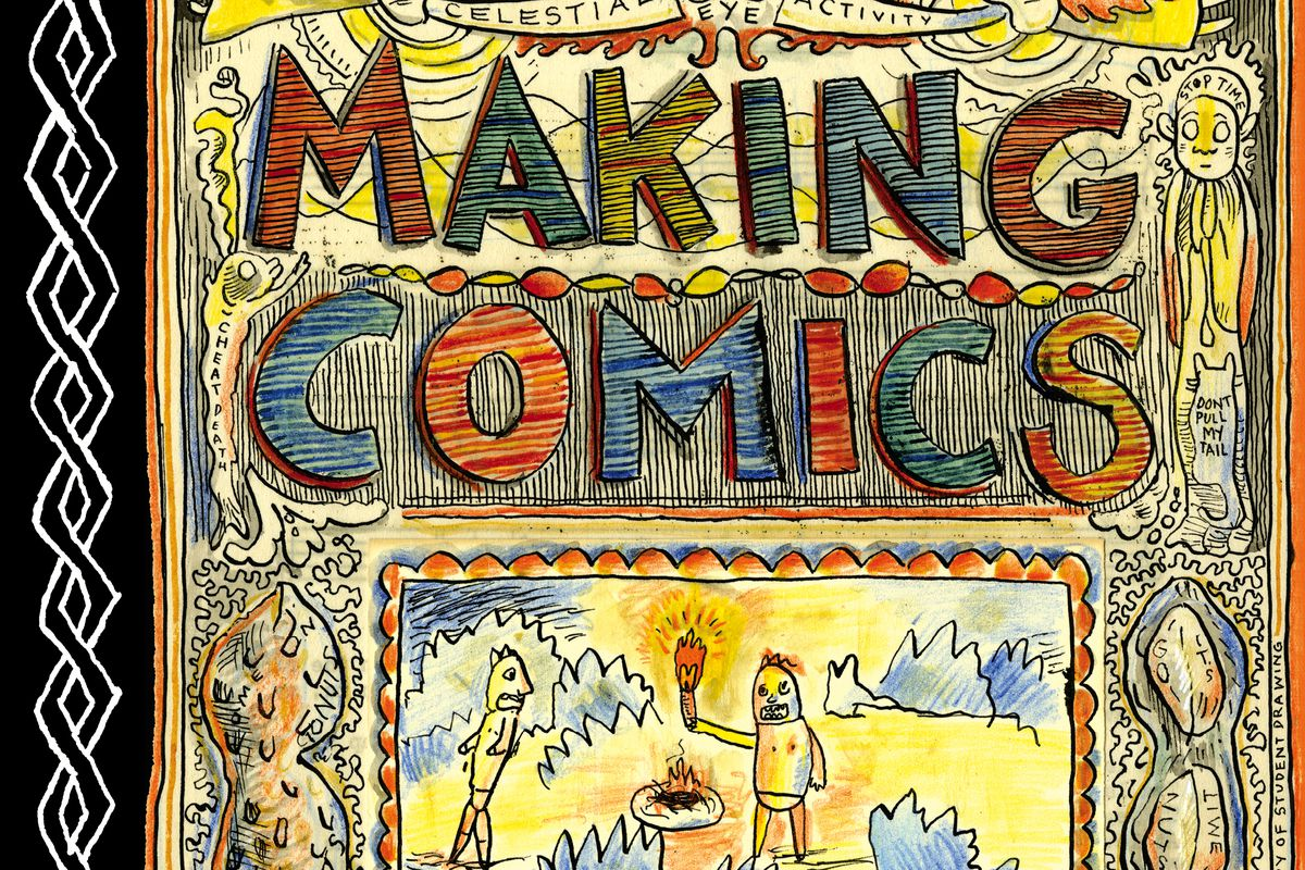 The cover of Lynda Barry's Making Comics.