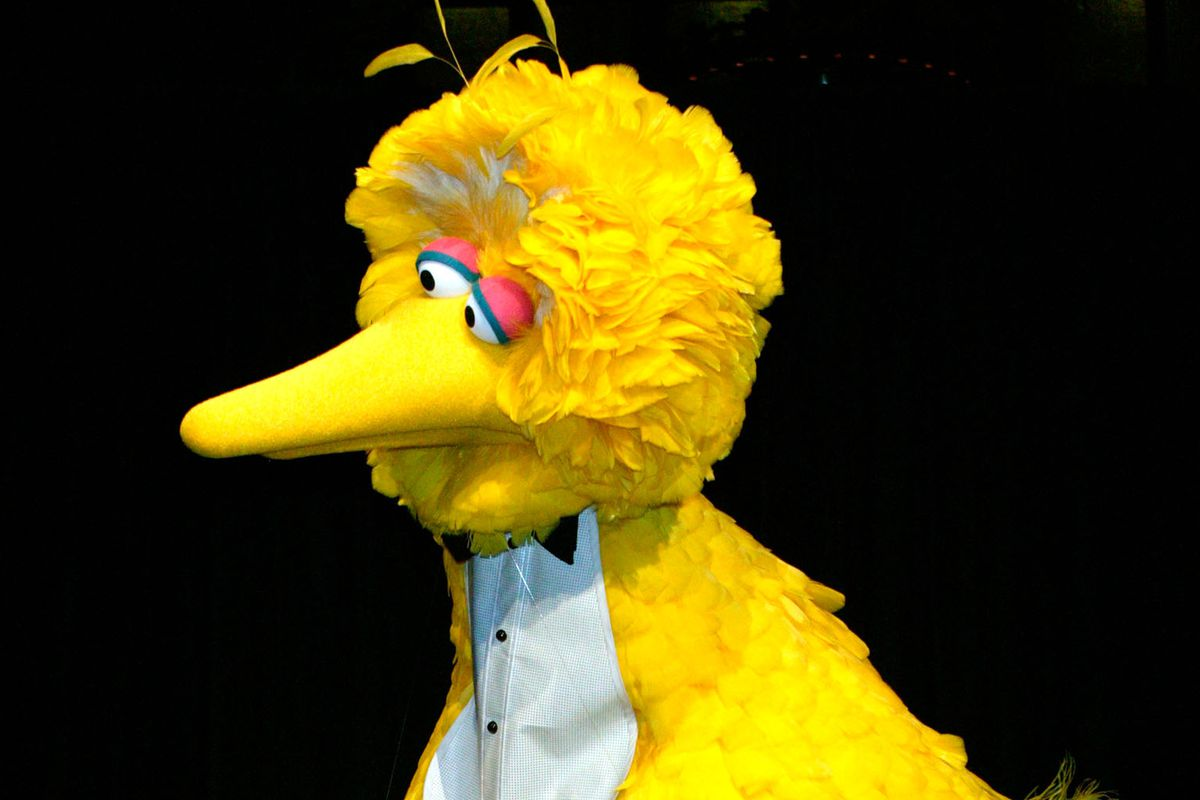 Big Bird is an icon, and Caroll Spinney has played him for decades.