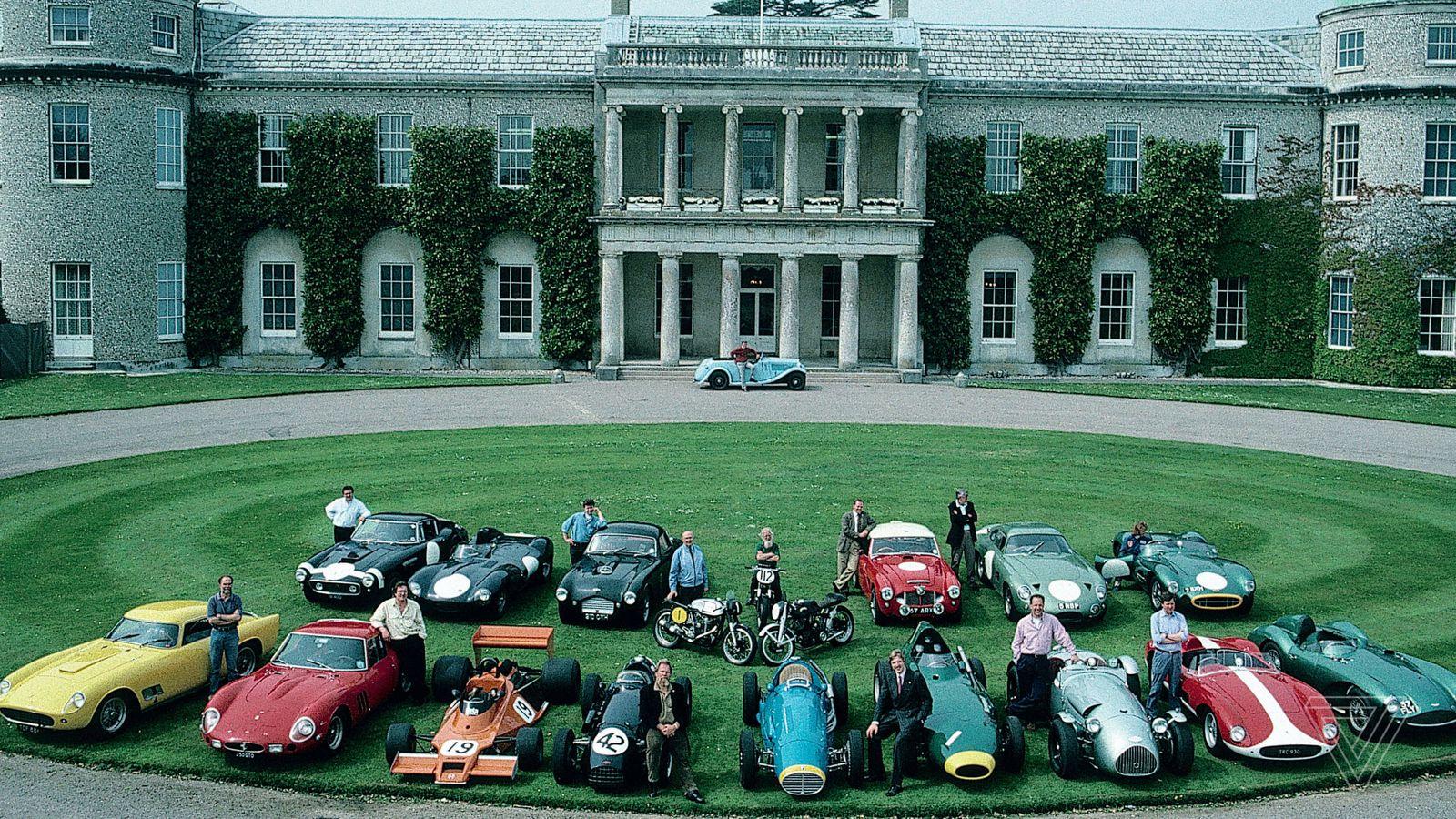 Multimillion-dollar Ferraris, Jaguars, Astons, and a fine cup of tea