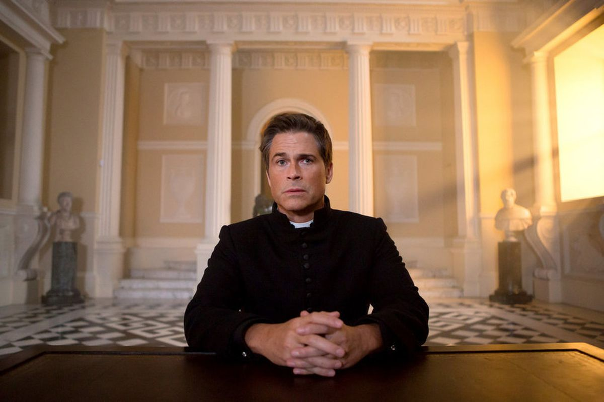 Rob Lowe will save the world.