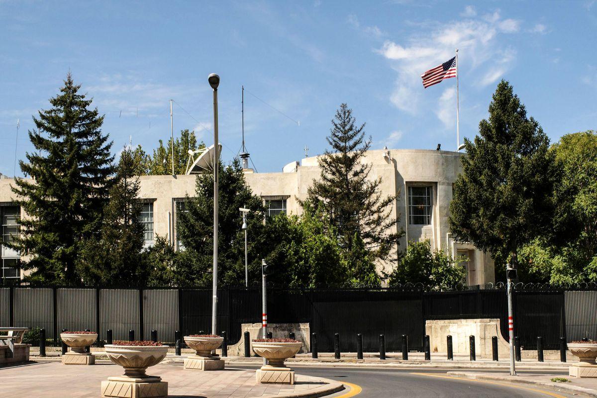 Znalezione obrazy dla zapytania fired us embassy
