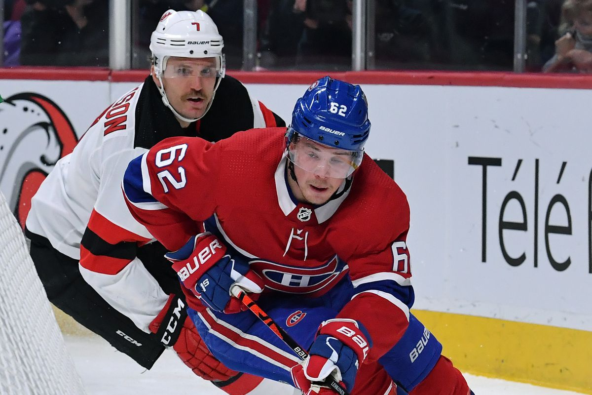 New Jersey Devils v Montreal Canadiens