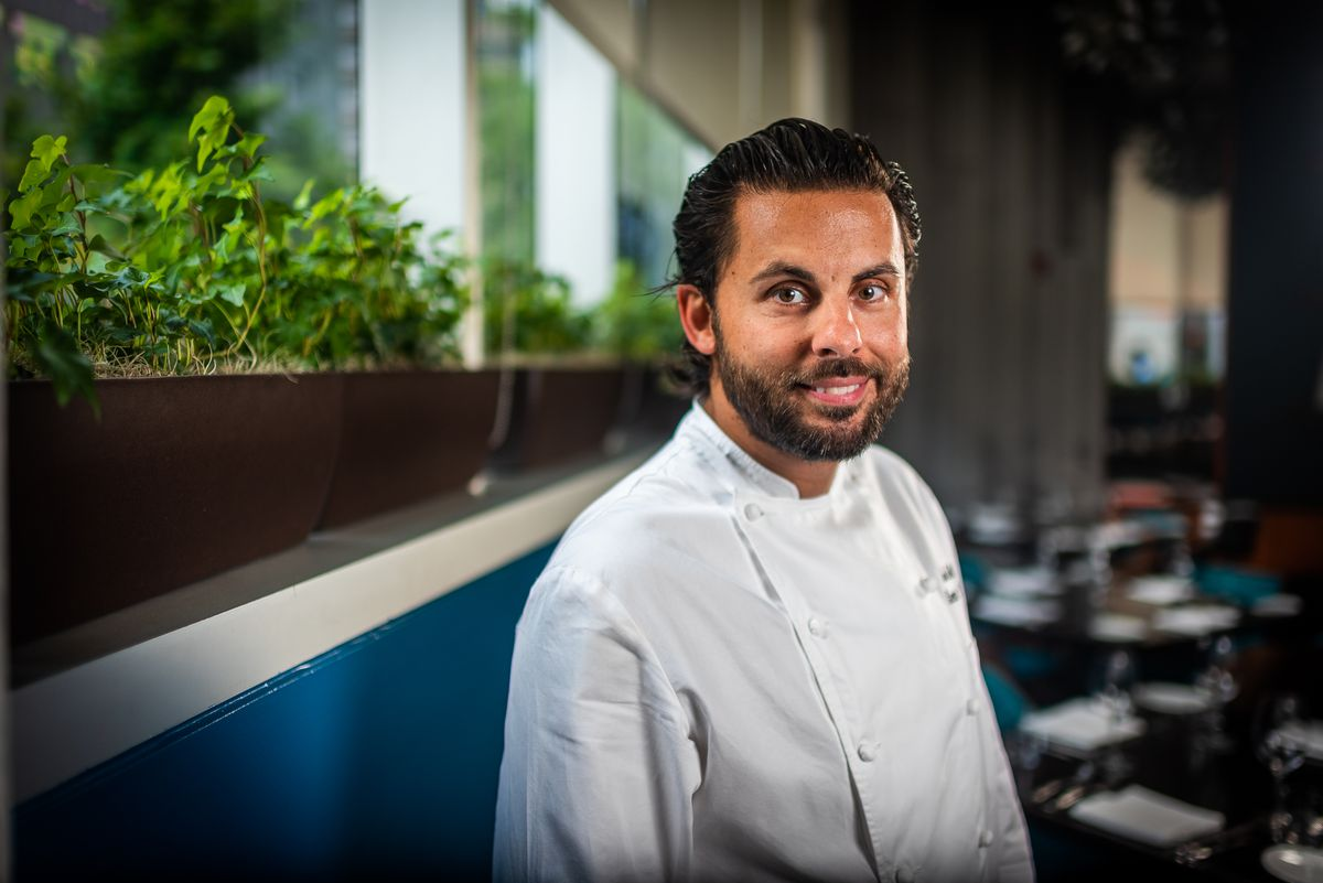 A portrait of Modena executive chef John Melfi.