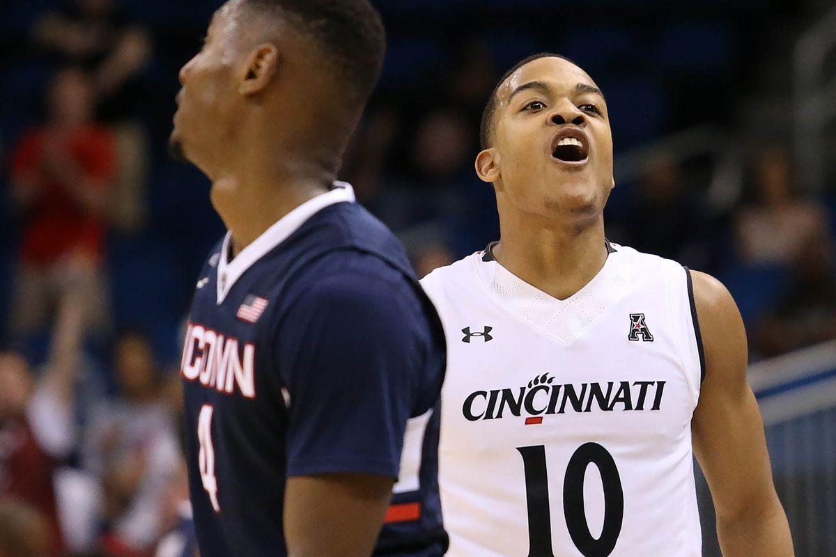 NCAA Basketball: AAC Tournament - Cincinnati vs Connecticut